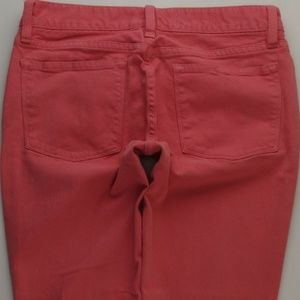 J.Crew Pink Toothpick Ankle Skinny Jeans 27 A330J